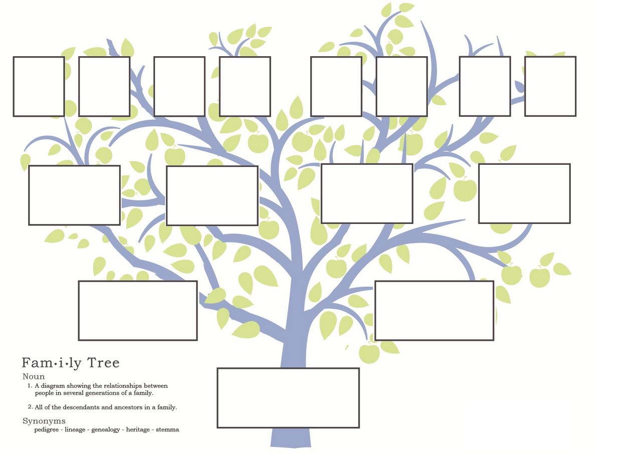 It's just an image of Accomplished Free Printable Family Tree